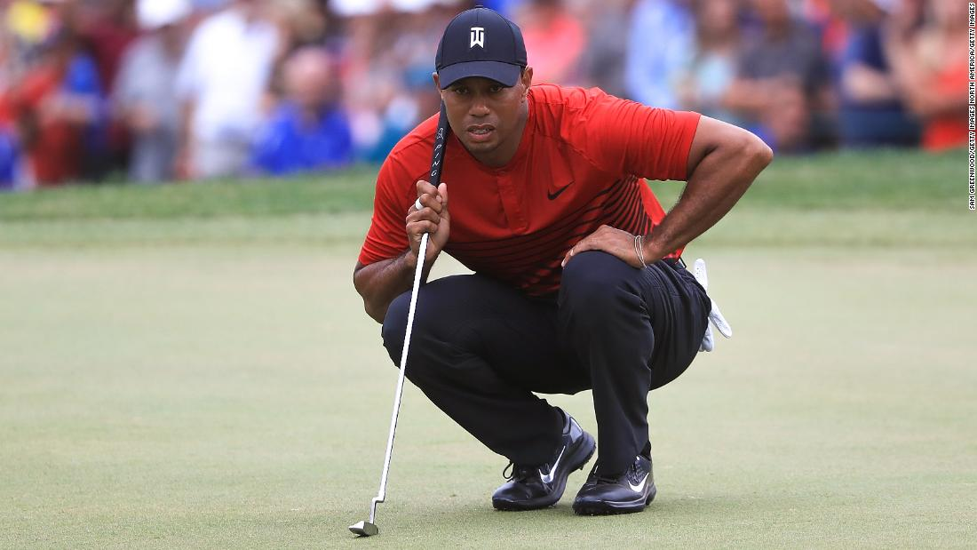 Woods finished tied second at the Valspar Championship in March and followed it up with a tie for fifth at the Arnold Palmer Invitational at Bay Hill. The hype needle moved into overdrive.