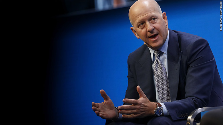 Goldman Sachs CEO doesn't expect a recession soon