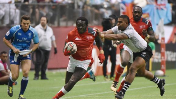 Kenya was the tournament's surprise package. Playing in its first final since Singapore in 2016, Shujaa eventually went down 31-12 to Fiji.