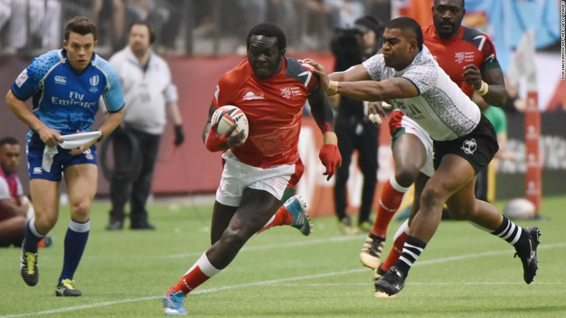 Kenya was the tournament's surprise package. Playing in its first final since Singapore in 2016, it eventually went down 31-12 to Fiji.