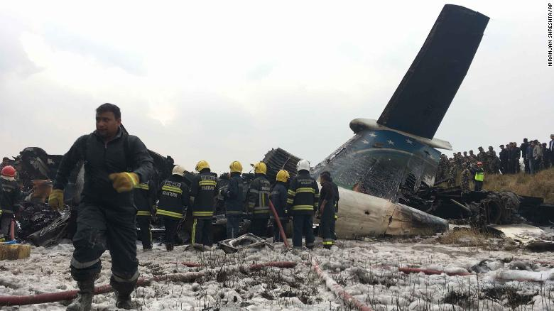 The plane crashed after approaching the runway from the wrong end, an official told CNN.