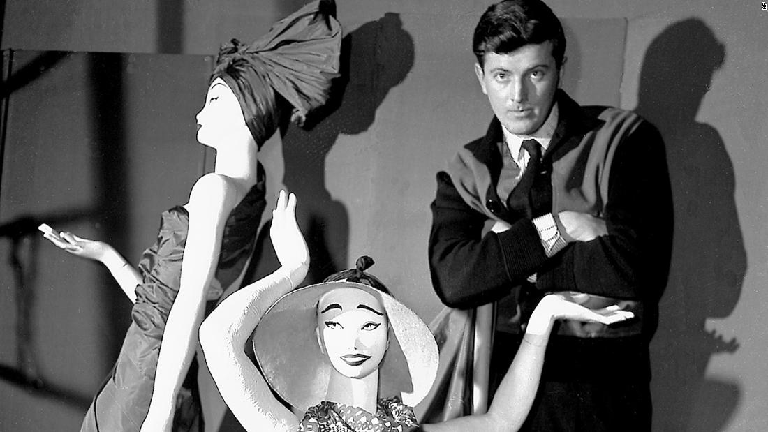 "Fashion designer <a href=""https://www.cnn.com/style/article/givenchy-dies-intl/index.html"" target=""_blank"">Hubert de Givenchy</a>, a pioneer in high-end ready-to-wear who was famous for styling Audrey Hepburn's little black dress in ""Breakfast at Tiffany's,"" died at the age of 91, the House of Givenchy confirmed on Monday, March 12."