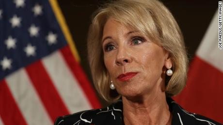 President Trump should fire Betsy DeVos
