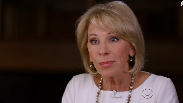 Congress Rejects Much Of Betsy Devoss >> Devos Haven T Visited Underperforming Schools