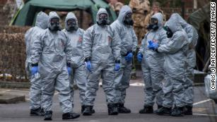 Russian spy attack nerve agent was rare, dangerous and sophisticated