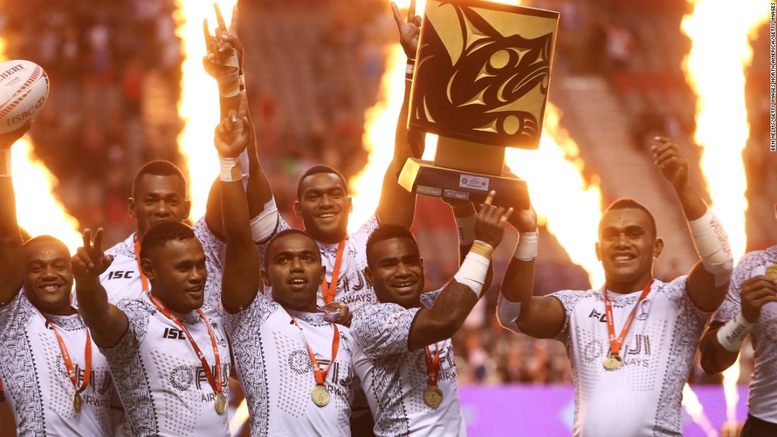 Fiji downs Kenya to win second Sevens Series title of 2018