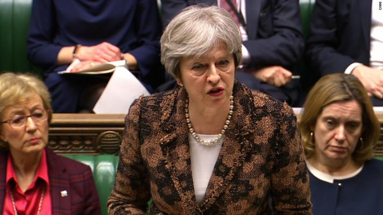 May: Russia likely behind nerve agent attack