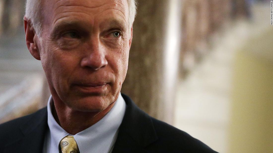 Sen. Ron Johnson won't travel with Trump after exposure to individual who tested positive for Covid