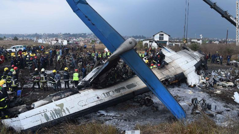 Image result for Nepal airport rejects blame for confusion before fatal plane crash
