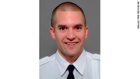 Officer Brian McDaniel of Dallas Fire Rescue.