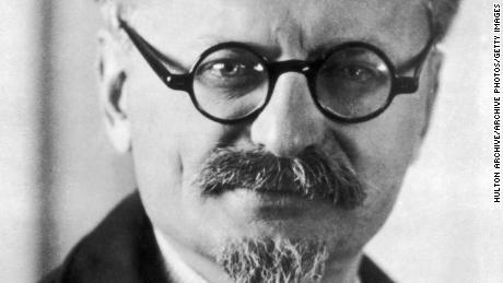 Leon Trotsky, during his exile in the 1930s