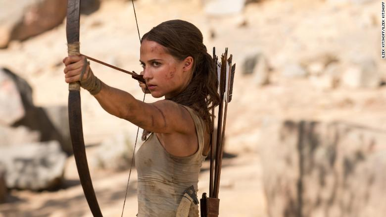 Alicia Vikander is Lara Croft in 'Tomb Raider'