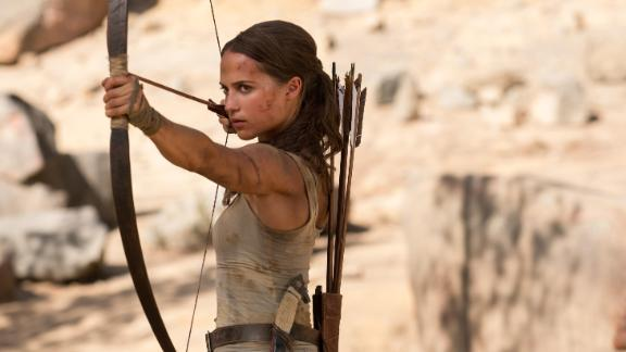 """<strong>""""Tomb Raider""""</strong>: Alicia Vikander hits the mark in this action film based on the video game of the same name. <strong>(HBO Now)</strong>"""