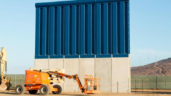 This $406,319 prototype was built by ELTA North America of Annapolis Junction, Maryland. Customs and Border Protection is evaluating eight potential barriers in San Diego and may use characteristics of them in future construction along the border.