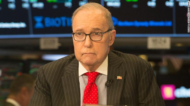Source: Trump says he's settled on Kudlow to replace Cohn
