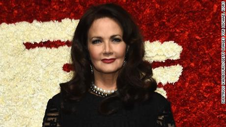 Actress Lynda Carter attends God's Love We Deliver, Golden Heart Awards at Spring Studio on October 15, 2015 in New York City.