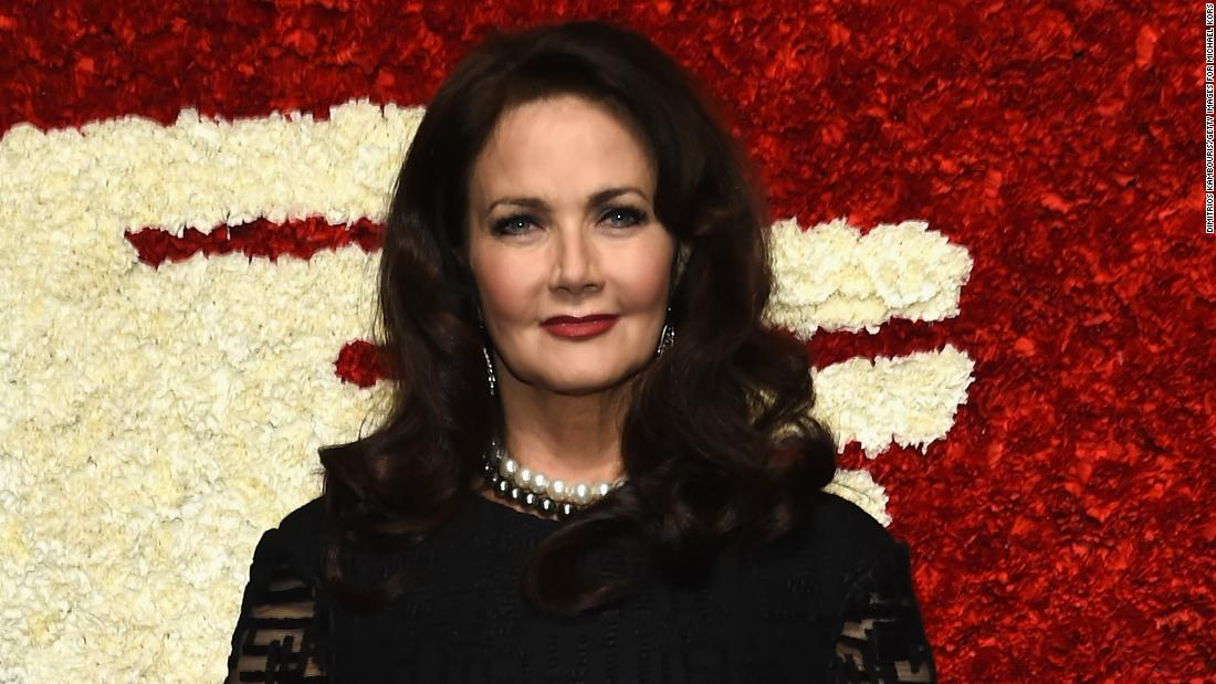 Lynda Carter recounts alleged harassment on 'Wonder Woman' TV show set.