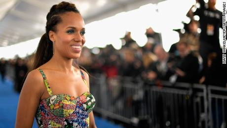 Kerry Washington just gave his phone number to 5 million + followers on Twitter. Or her?