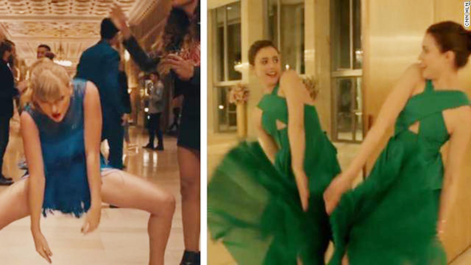 Taylor Swift Gets Backlash Over Dance Moves Cnn Video