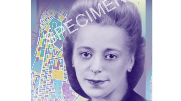 Canada's new $10 note featuring Viola Desmond.