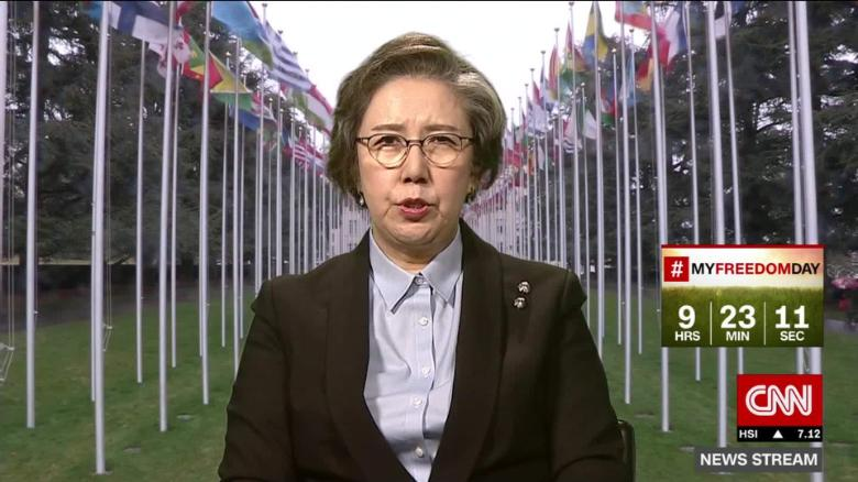 news stream stout yanghee lee rohingya genocide_00035620