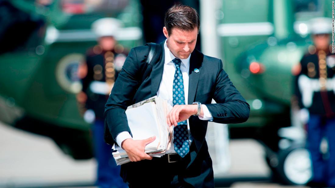 John McEntee, longtime Trump aide, fired over security clearance issue - CNNPolitics