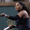 Serena frustrated