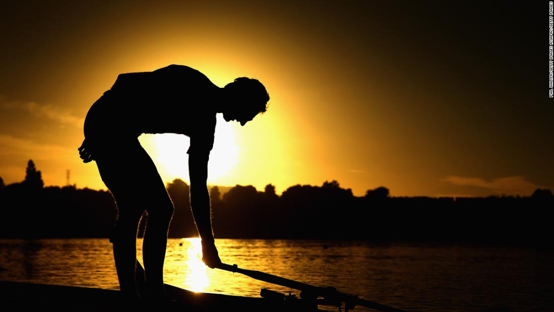 The sun has effectively set on his rowing career in which he went unbeaten for eight years on the water.