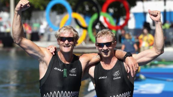 With rowing partner Eric Murray, who retired after the Rio Olympics, Bond  won double Olympic gold.