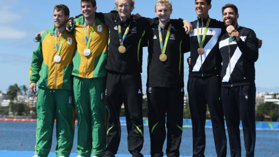 Bond relished his first Olympic gold in 2012 and admitted that the 2016 gold (pictured above) was not quite as sweet.