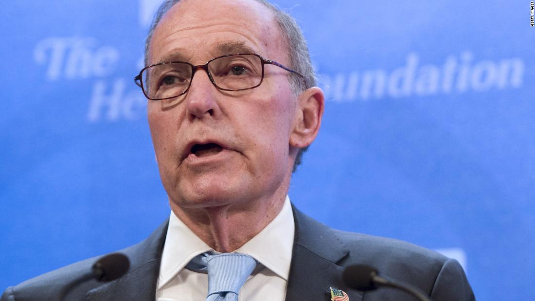 Kudlow to become Trump's next top economic adviser