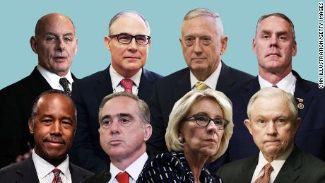 The 9 people Donald Trump might fire next