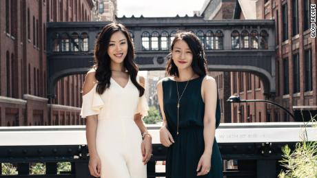 Glow Recipe co-founders Sarah Lee, left, and Christine Chang.
