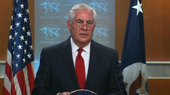 Tillerson statement 03132018