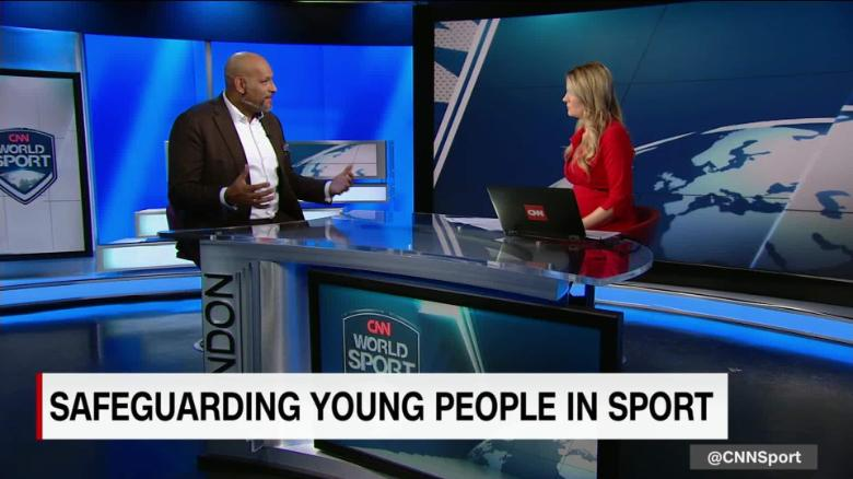 John Amaechi discusses the safeguarding of young people in sports_00031419