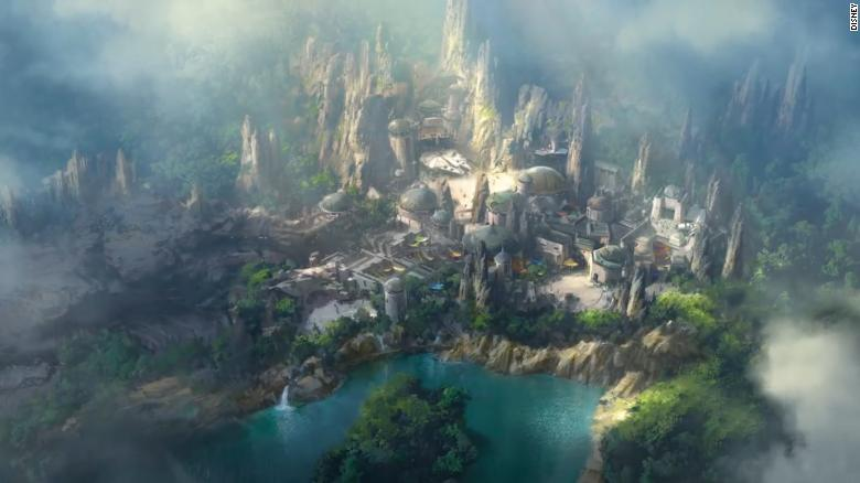 Get a glimpse of Disney's new 'Star Wars' land