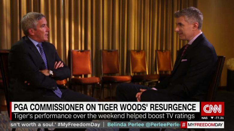 PGA Tour Commissioner on Tiger Woods spt_00013017