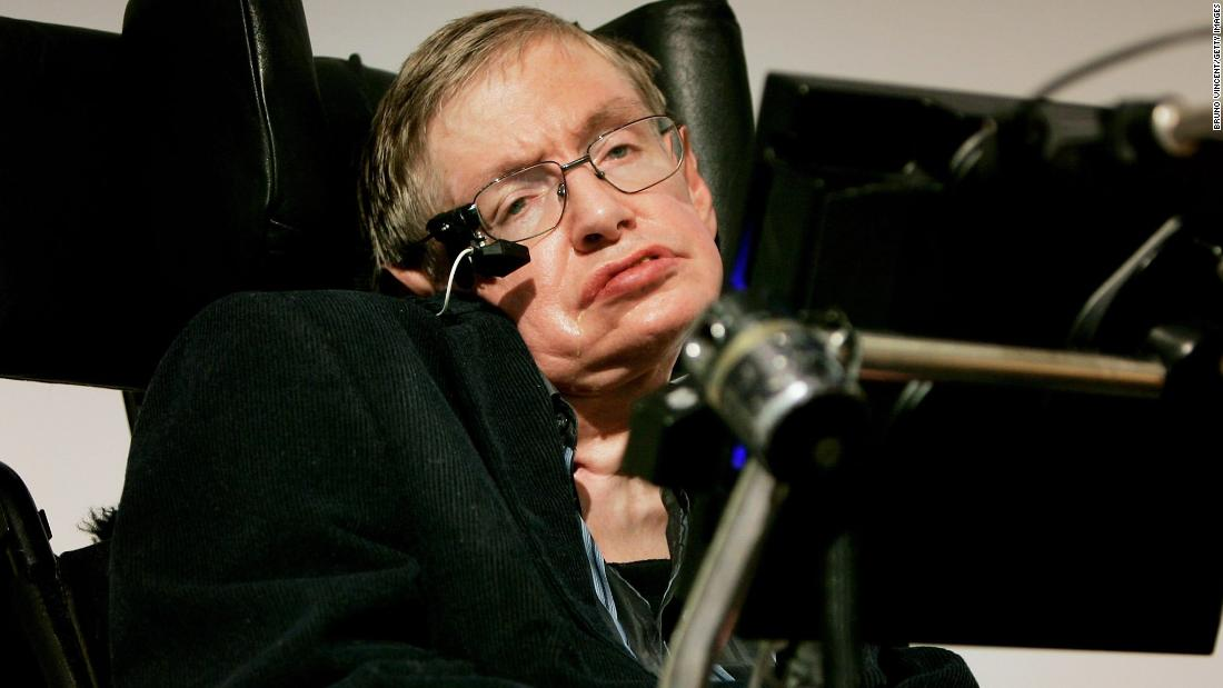 "<a href=""https://www.cnn.com/2018/03/14/health/stephen-hawking-dead/index.html"" target=""_blank"">Stephen Hawking</a>, the brilliant British theoretical physicist who overcame a debilitating disease to publish wildly popular books probing the mysteries of the universe, died Wednesday, March 14. He was 76."