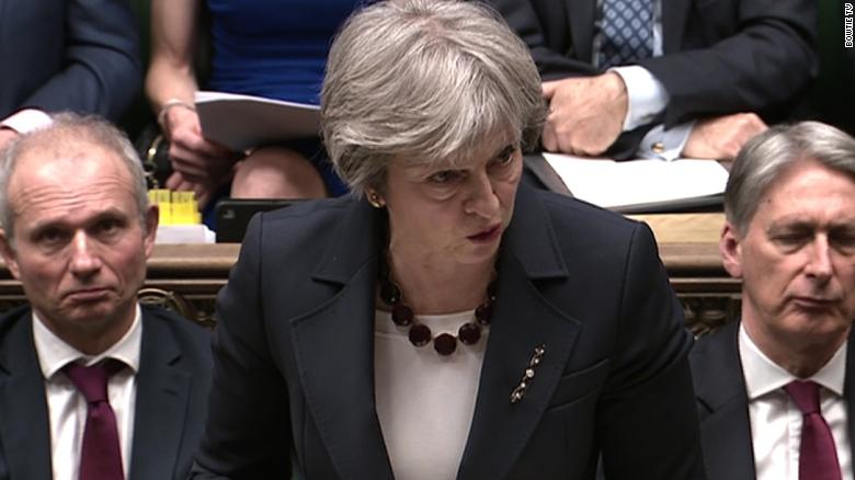 Theresa May: UK will expel 23 Russian diplomats