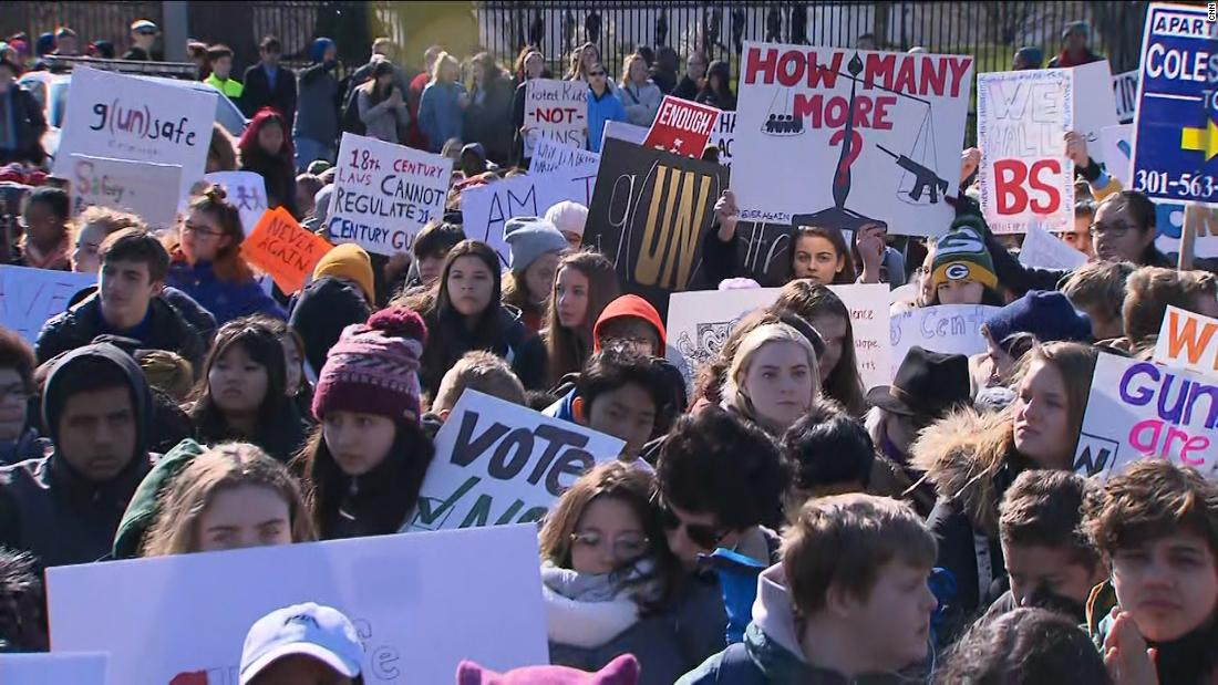 What to expect from Friday's massive National School Walkout