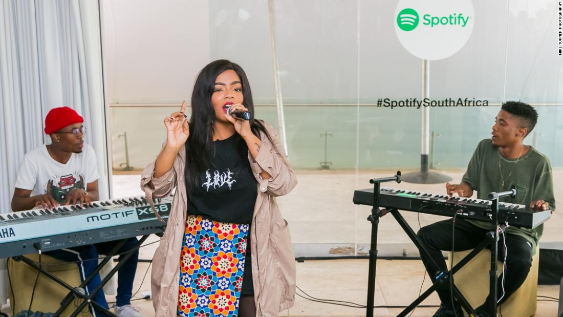 Music giant Spotify launches streaming services in South ...