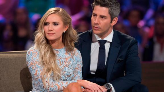 "Season 22's Arie Luyendyk Jr. became one of the most controversial contestants ever when he ended up with with runner-up Lauren Burnham after first selecting Becca Kufrin to be his bride. The show aired his breakup with Kufrin (who went on to become the new Bachelorette) and Burnham and Luyendyk Jr. got engaged during the ""After the Final Rose"" episode immediately following the finale."