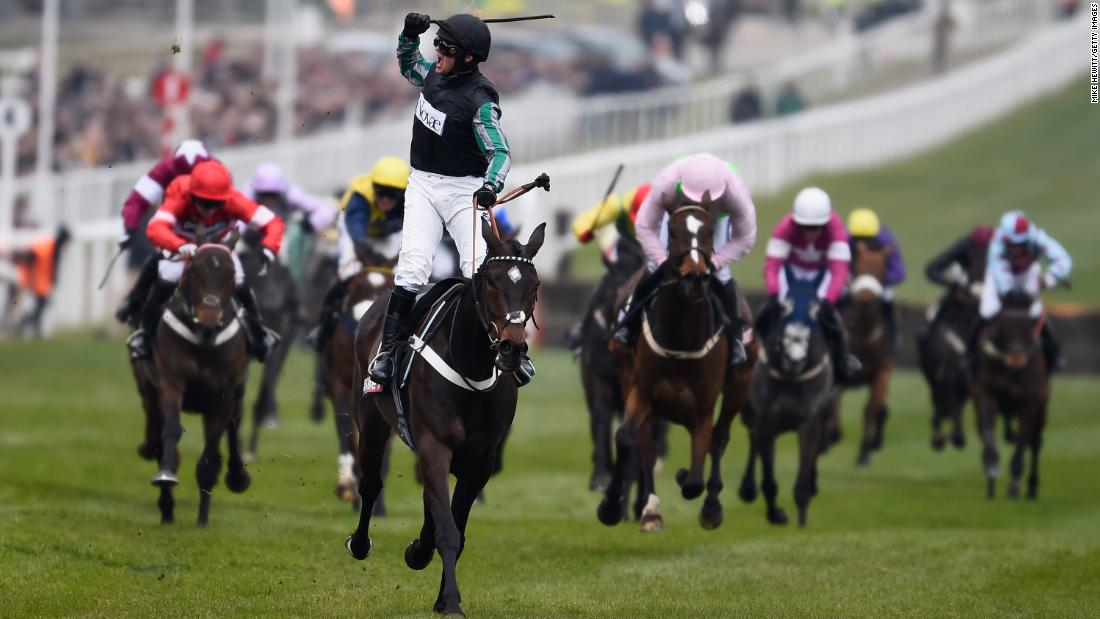 <strong>Top class:</strong> Even favorite Altior, trained by Nicky Henderson, defied an injury scare earlier in the week to confirm his status as one of the best of his generation with victory in Wednesday's showpiece Queen Mother Champion Chase.
