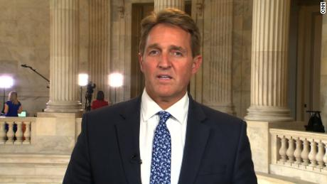 Flake: Trump firing Mueller is a 'red line'
