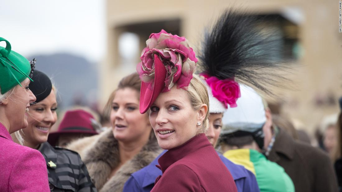<strong>Turning heads: </strong>The Queen's granddaughter Zara Tindall, an Olympic silver medal-winning equestrian rider, is a regular visitor to the Cheltenham Festival