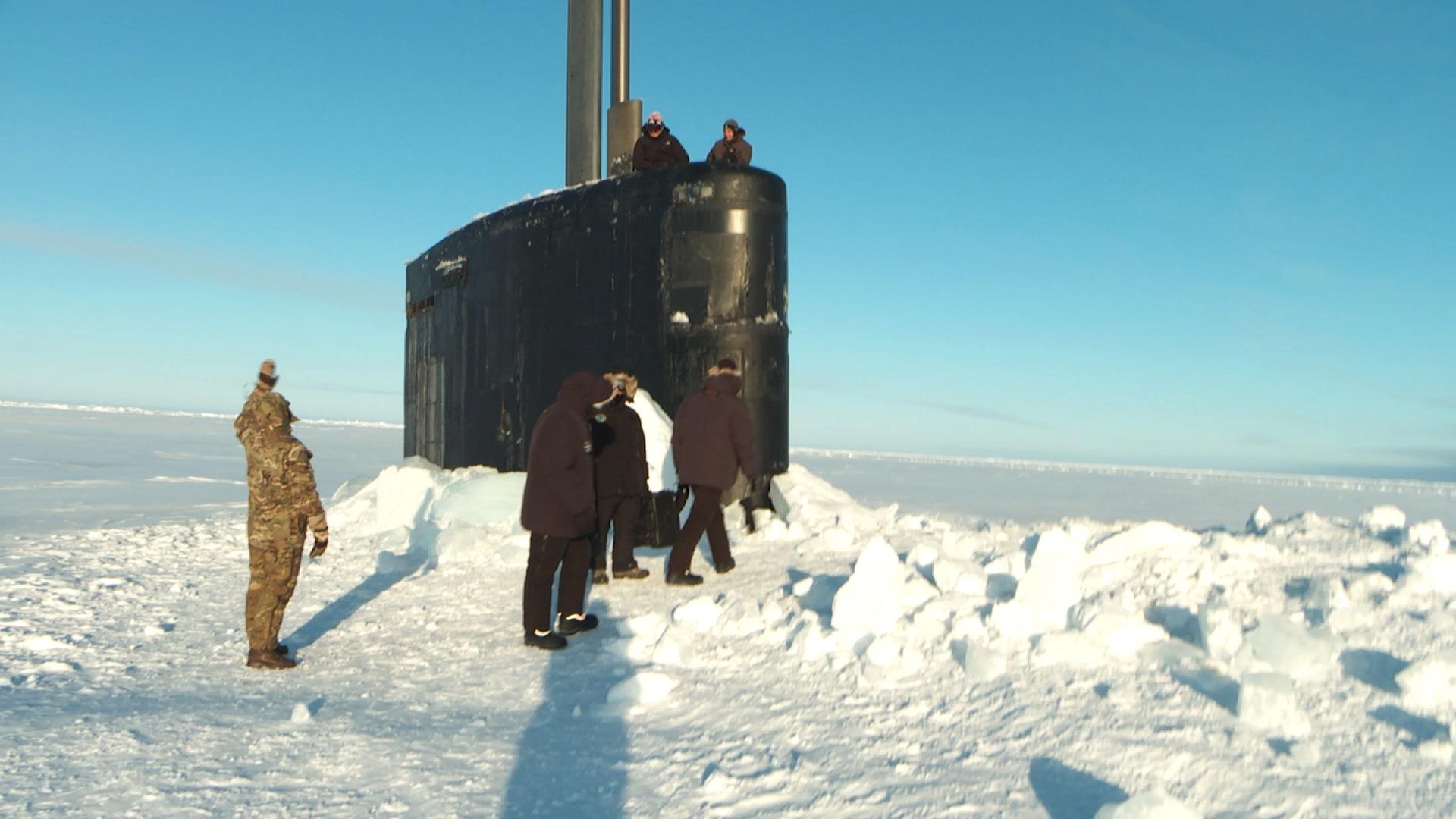 arctic nuclear submarine