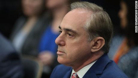 Veterans Affairs Secretary David Shulkin appears before the House Appropriations Subcommittee on March 15, 2018 in Washington, DC. The subcommittee is hearing testimony on U.S. President Donald Trump's proposed FY2019 budget for the Veterans Affairs Department. (Mark Wilson/Getty Images)