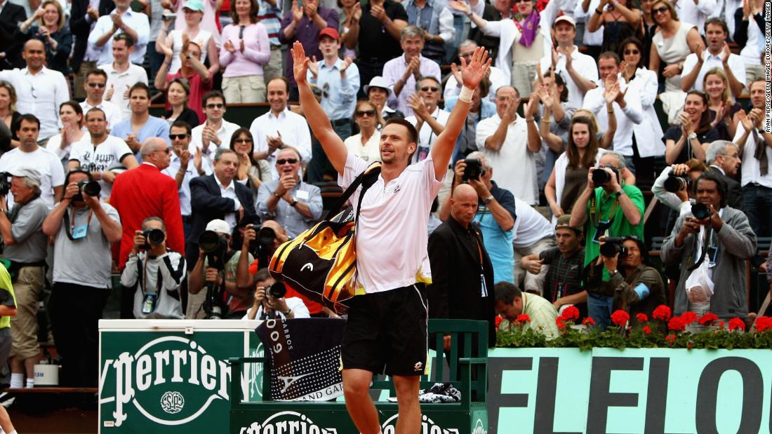 Soderling handed Nadal his first ever defeat at the French Open after the Mallorcan's titles in 2005, 2006, 2007 and 2008.