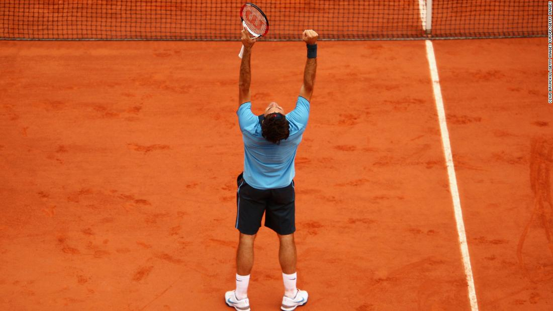 After losing to Nadal at the French Open the previous four seasons, he was the last man standing on the red clay at Roland Garros.