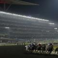 dubai world cup meydan racecourse general view